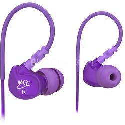 M6 Sports In-Ear Headphones (Purple)