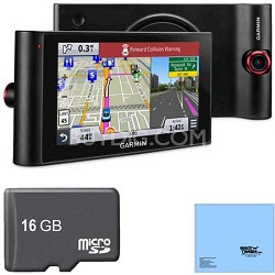 """nuviCam LMTHD 6"""" GPS Navigation System with Built-in Dashcam, Maps & HD Traffic"""