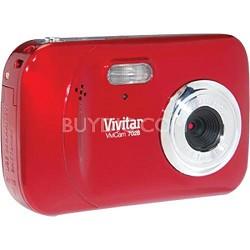 ViviCam 7028 Digital Camera Strawberry Red