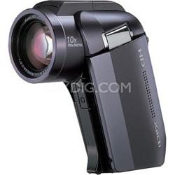 Xacti VPC-HD1010: HD 1080p MPEG-4 Digital Video Camera (Black) - OPEN BOX