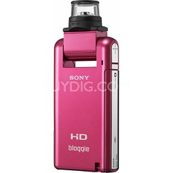 MHS-PM5K bloggie Pink 4GB Compact High Definition Camcorder - OPEN BOX
