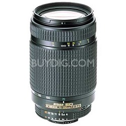 70-300mm F/4-5.6D ED AF  Zoom-Nikkor Lens, With Nikon 5-Year USA Warranty