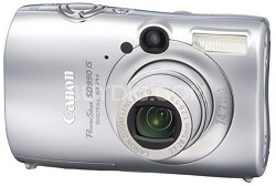 Powershot SD990 IS 14.7 MP Digital ELPH Camera (Silver)