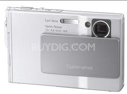 Cyber-shot DSC-T7 Digital Camera - Silver (after holiday sale)