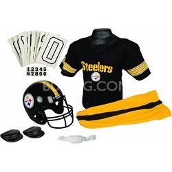 NFL Deluxe Team Medium Uniform Set - Pittsburgh Steelers