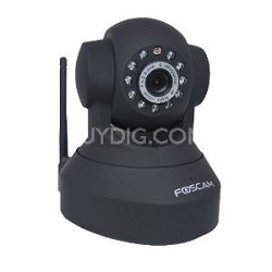 FI8918W Wireless/Wired Pan & Tilt IP/Network Camera with Night Vision/3.6mm Lens