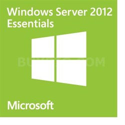 Full OEM Version of Windows Server 2012 R2 Essentials Edition - G3S-00716
