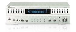 1000 - Watt Power Amplifier with 10 band EQ (Silver)