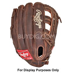 """Heart of the Hide Pro H Solid Core 12.75""""  Baseball Glove (Left Hand Throw)"""