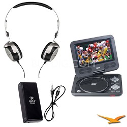 T50p Tesla Portable Stereo Headphone & Naxa Portable DVD player Bonus Kit