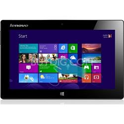 "10.1"" IdeaPad 64GB Miix Slate 1366 x 768 HD Multi-touch Tabl(Silver) - OPEN BOX"