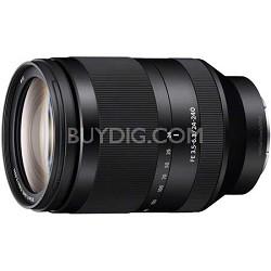 SEL24240 - FE 24-240mm F3.5-6.3 OSS Full-frame E-mount Telephoto Zoom Lens
