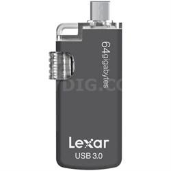 JumpDrive M20c 64GB USB Type-C Flash Drive (LJDM20c-64GBBNL)