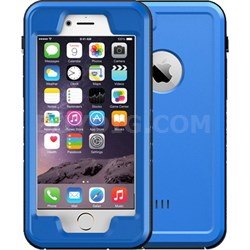 "Blue 4.7"" Shock Resistant Waterproof Case for Apple iPhone 6/6S"