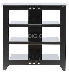 "NFAV230 - Natural Four Shelf A/V Stand for TVs up to 32"" (Black Finish)"