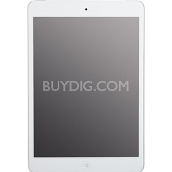 iPad mini 64GB, Wi-Fi + 4G Cellular (Verizon), 7.9in - White & Silver