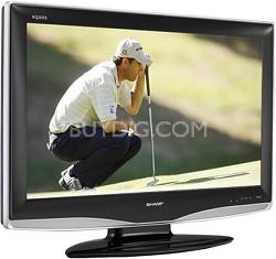 "LC-32D43U - AQUOS 32"" High-definition LCD TV"