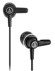 In-ear High Fidelity Headphones w/ 10.7mm Rare-earth Drivers (Black)