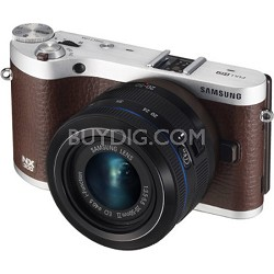 NX300 20.3 MP Digital Camera - Brown 20-50 Lens Kit