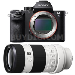 a7S II Full-frame Mirrorless Interchangeable Lens Camera 70-200mm Lens Bundle