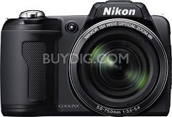 COOLPIX L110 Digital Camera (Matte Black)