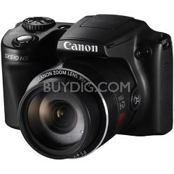 PowerShot SX510 HS 12.1 MP Digital Camera - Black