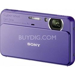 Cyber-shot DSC-T99 14MP Violet Touchscreen Digital Camera