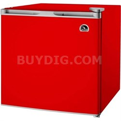 1.7 Cubic Foot Compact Mini Bar Office Dorm Refrigerator Freezer, Red - FR115I