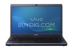 VAIO VPC-F13WFX/B 16.4-Inch Entertainment Laptop (Black) Intel Core i7-740QM