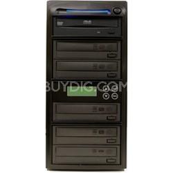 CD Duplicator / Copier 1 to 5 52X CD Burners