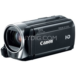 VIXIA HF R300 Full HD Flash Memory Camcorder Factory Refurbished