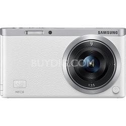 NX Mini Mirrorless Digital Camera with 9mm Lens - White