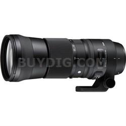 150-600mm F5-6.3 DG OS HSM Zoom Lens (Contemporary)Nikon DSLR Cameras - OPEN BOX