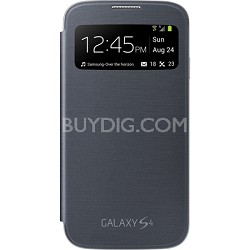 Galaxy S IV S-view Flip Cover Black