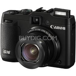 PowerShot G16 12.1 MP Digital Camera