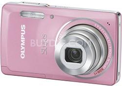 "Stylus 5010 14MP 2.7"" LCD Digital Camera (Pink)"