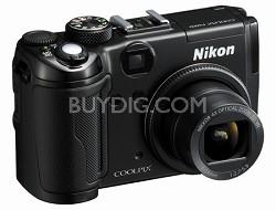 Coolpix P6000 Digital Camera (Black)