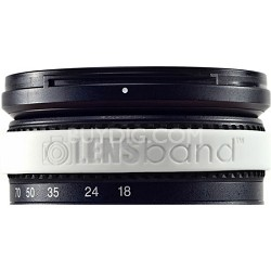 Stop Zoom Creep for One Size Fits All Lens - White