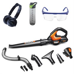 AIR 20V Max Lithium Cordless Blower/Sweeper w/ Safety Bundle