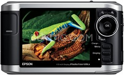 """P-3000 Multimedia Storage Viewer w/40GB Hard Drive and 4"""" LCD"""