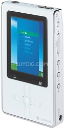 MES30VW -30GB gigabeat MP3/WMA Player w/ Video & Photo Playback (Piano White)(RB