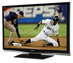 "LC-32D64U AQUOS Slim-line 32""  HD 1080p LCD Panel TV"