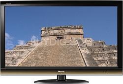 """LC40E77U - AQUOS 40"""" High-definition 1080p 120Hz LCD TV"""