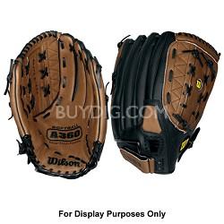 "A360 Baseball Glove - Left Hand Throw - Size 14"""