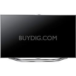 UN46ES8000 46 inch 240hz 1080p 3D Smart LED HDTV with four pairs of 3D Glasses