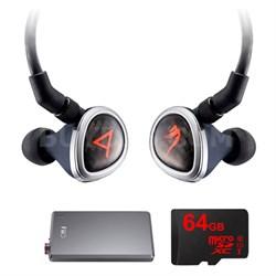 Special Edition Roxanne II Blk Headphones by JH Audio w/ FiiO E12 Pro Amp Bundle