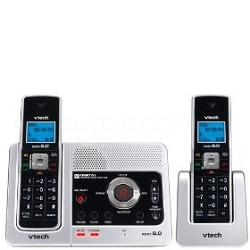 LS6125-2 DECT 6.0 Two Handset Cordless Answering System with Caller ID