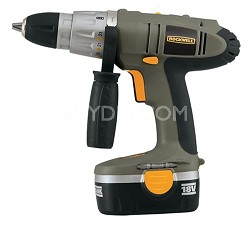 RK2823K2 18-Volt Cordless Drill with 2 Batteries