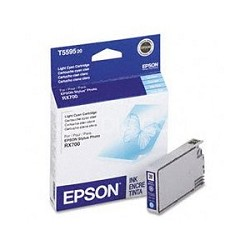 Light Cyan Ink Cartridge for Epson Stylus Photo RX700