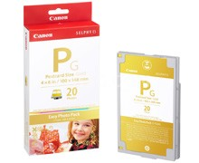 E-P20G Easy Photo Pack Gold for SELPHY ES40 , ES30 & ES3 Printers